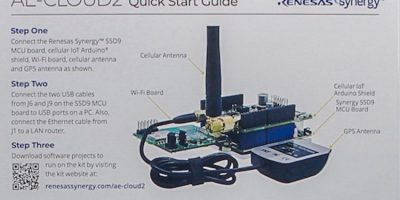 RS Components adds Renesas Synergy AE-Cloud2 kit