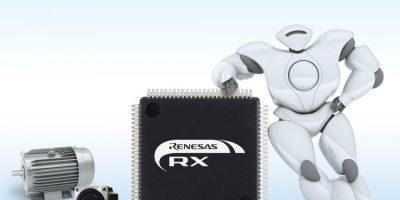 32-bit MCU performance optimises motor control