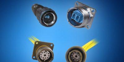 Mouser stocks Amphenol FSI's fibre optic connectors for hi-rel applications