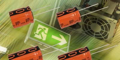 RS Components adds rugged high-density capacitors from Vishay