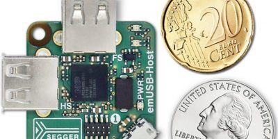 Board supports USB-based gadgets