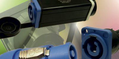 Power connector range has ergonomic locking plugs