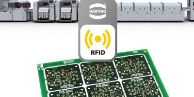RFID on production line detects PCBs