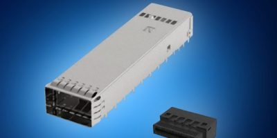 Mouser supports data centres with TE Connectivity's OSFP I/O connectors