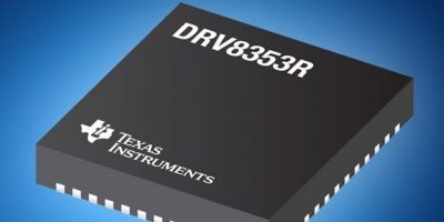 Mouser ships smart gate drivers for three-phase BLDC motors