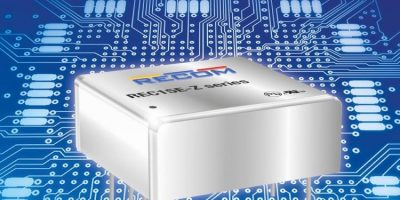 DC/DC converters save PCB space with added voltage flexibility