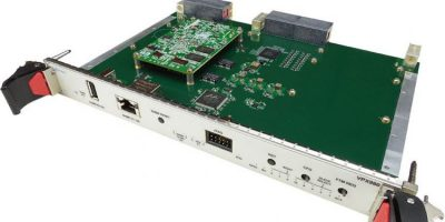 VPX chassis manager has integrated JTAG switch module
