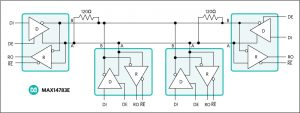 Fig 1 Half duplex transceiver