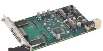 CompactPCI serial carrier card has rugged modules for embedded computing