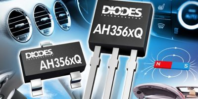 Omnipolar Hall-effect switches from Diodes meet robust automotive environments