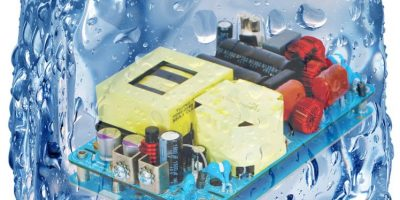 Power supply for medical/industrial use has cooling options