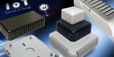 Enclosures are designed for sensors in manufacturing