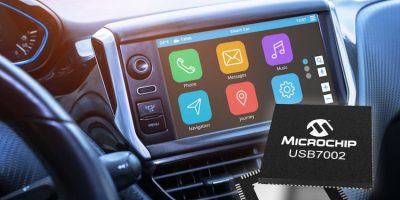 Microchip introduces automotive USB 3.1 SmartHub with Type-C support