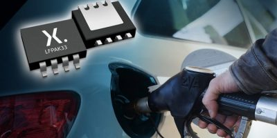 Automotive MOSFETs increase power for powertrain applications