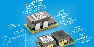 Dual-output digital PoL regulator saves space in ICT applications