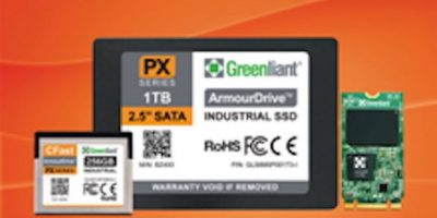 Greenliant adds industrial version to ArmourDrive SSD offering
