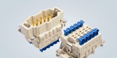 Connector combines rapid termination technique with high mating cycle capability