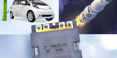 Planar transformers are optimised for high power, high density applications