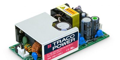 RS Components offers Traco power supplies approved for medical markets