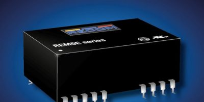 Recom introduces surface mount converters for medical design