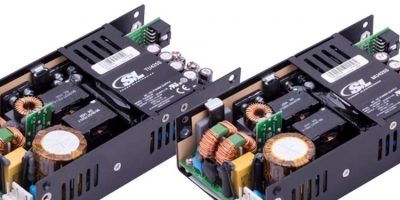 U-channel medical and industrial  power supplies replace AC power