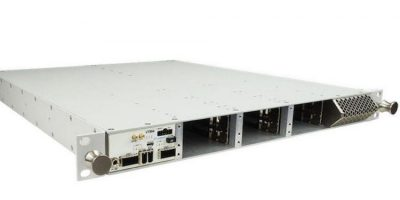Rugged 1U MTCA chassis withstands shock