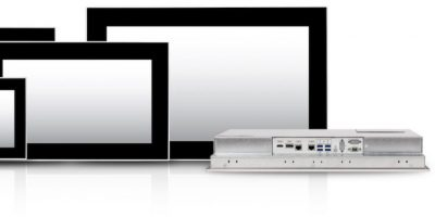 C2 industrial panel PCs are multi-touch and fanless