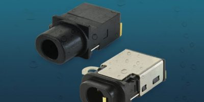 Audio jack connector is certified to IP67