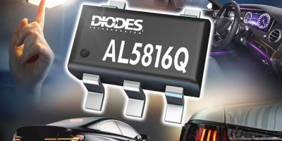 Fast dimming linear LED controller meets automotive conditions