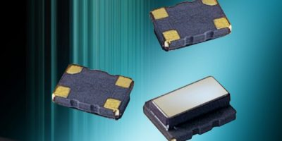 Surface mount TCXOs offer low current consumption