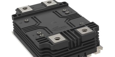 Power module is designed for compact and scalable inverter designs
