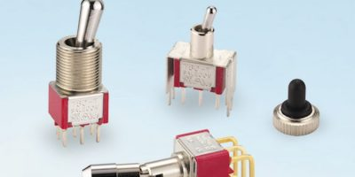 JPR Electronics adds miniature toggle switches from Salecom