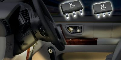 Constant current LED drivers are automotive-qualified