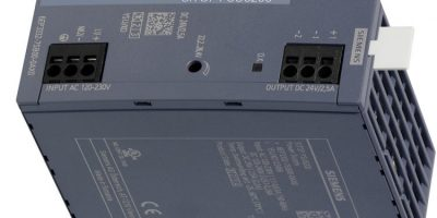 RS Components introduces Siemens DIN rail power supplies
