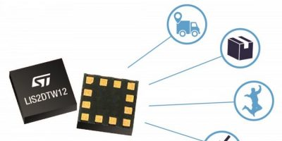 ST combines accelerometer and temperature sensor for tight spaces