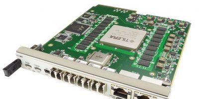 Advanced mezzanine card addresses high bandwidth networks