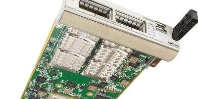 Advanced mezzanine card has 40/50/100GbE host bus adapter