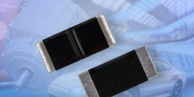 Automotive-grade current sense resistors eliminate parallel elements