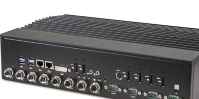 Rugged, fanless analytics computer combines AI and IOT