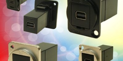 Cliff adds mini DisplayPort option to FeedThrough connecter range