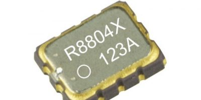 DTCXO real-time clock monitors industrial and outdoor temperatures