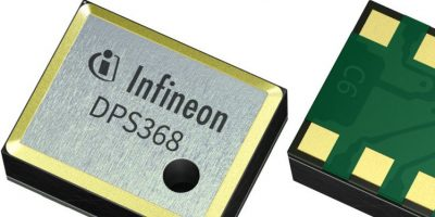 Miniature barometric pressure sensor offers protection