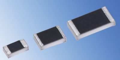 RS Components offers precision thick-film chip resistors from KOA