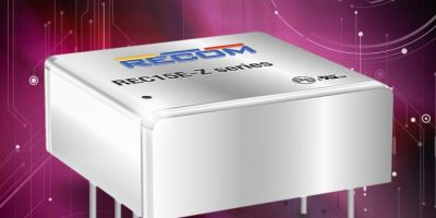 Isolated converters from Recom are available from Dengrove