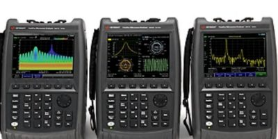 Handheld analyser combines 5G and electronic warfare testing