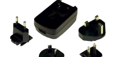 Phihong adds USB feature to interchangeable plug adapter