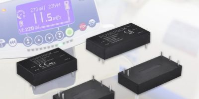Powerbox releases 105 DC/DC converters with medical approvals