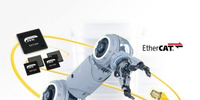 RX72M microcontrollers with EtherCAT support industrial applications
