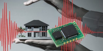 Detection sensor distinguishes earthquake from false alarms