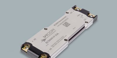 Vicor adds 800V bus converter module to BCM offering